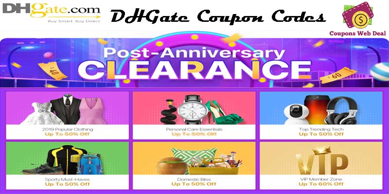 DHGate Coupon Codes