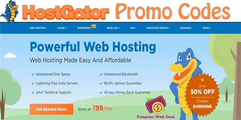 HostGator Promo Codes