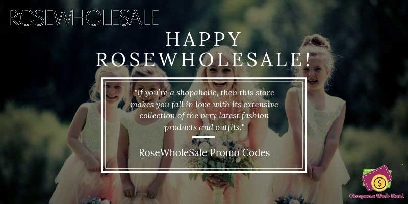 RoseWholeSale Coupon Code