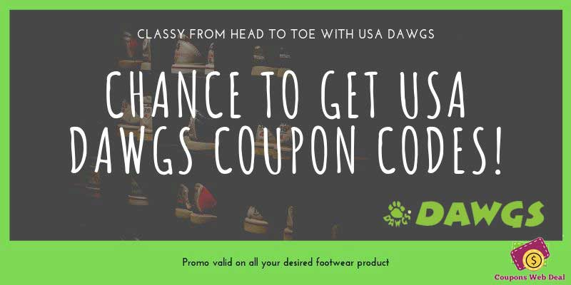 USA DAWGS Promo Codes