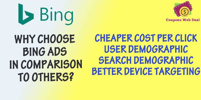 Why Choose Bing Ads With Discount Code