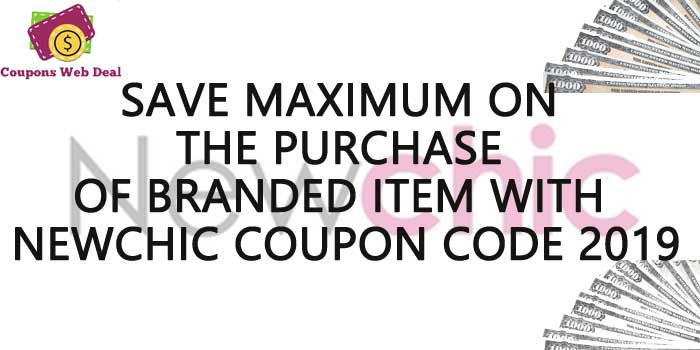 NewChic Saving Coupons Code