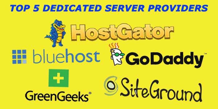 Top 5 Dedicated Server
