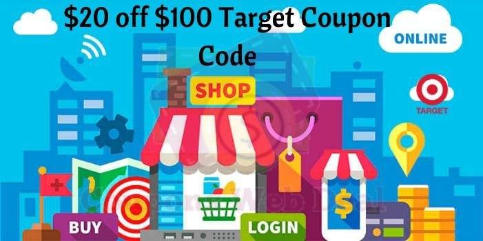 20 off $100 Target Coupon Code
