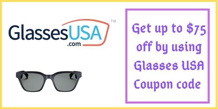 Glasses USA Sunglasses 75 off Coupon Code