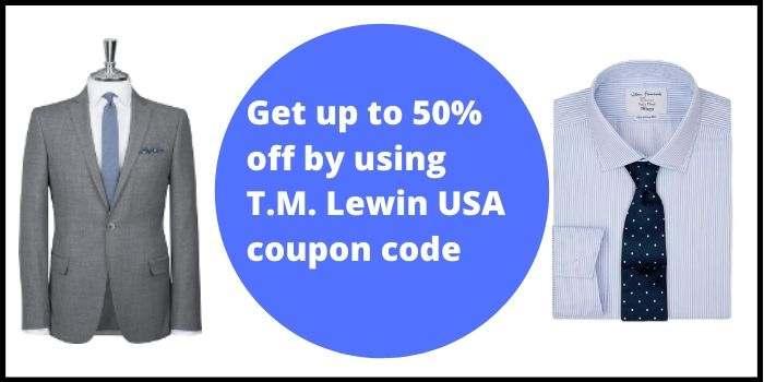 T.M. Lewin 50 Off