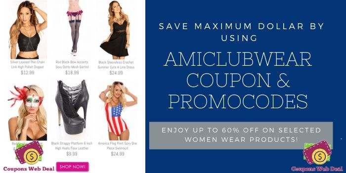 Amiclubwear 60 off Coupon