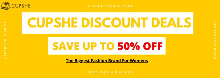 Cupshe Discount Deals