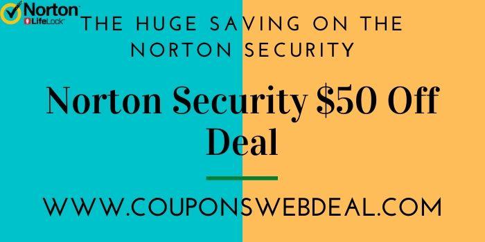 Norton Security Software Discount Deal