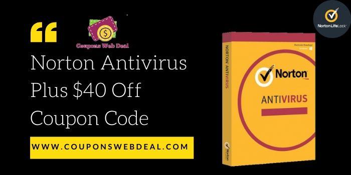Norton Antivirus Plus Coupon Code