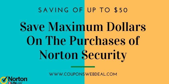 Norton Security Software Coupon