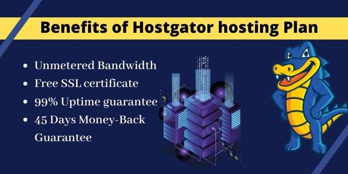Benefits of Hostgator Hosting Plan