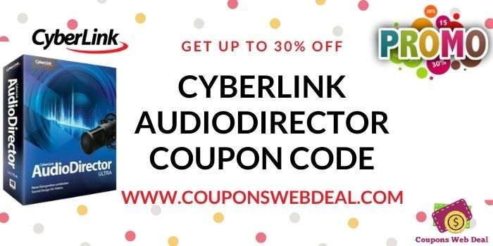 Cyberlink AudioDirector Coupon