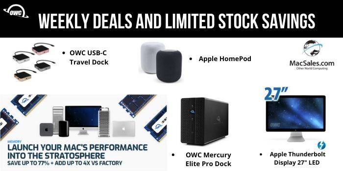 OWC weekly deal