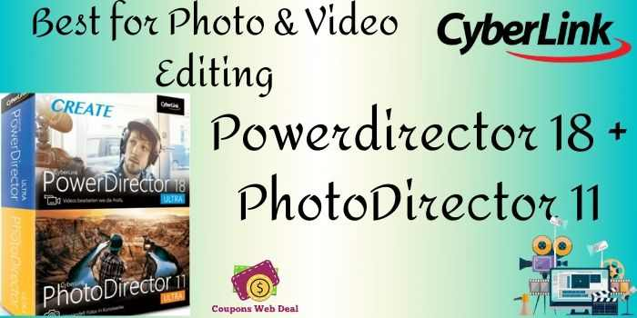 Powerdirector 18 + PhotoDirector 11