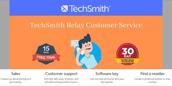 Techsmith customer services