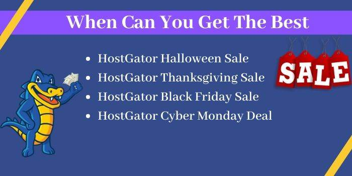 When can you get the best discont on Hostgator