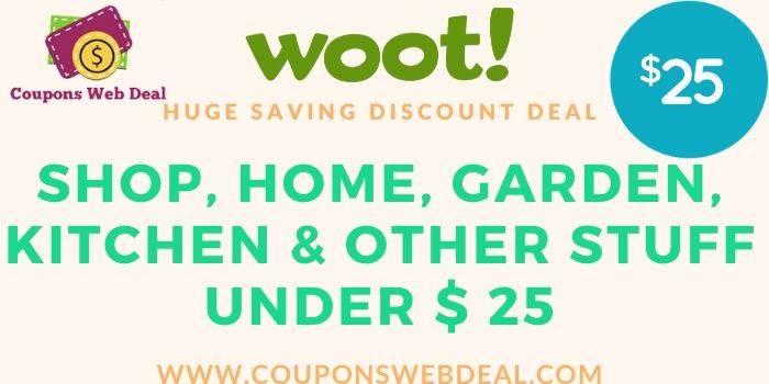 Woot Saving Deal