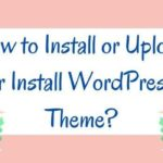 Guide How To Install WordPress Theme?