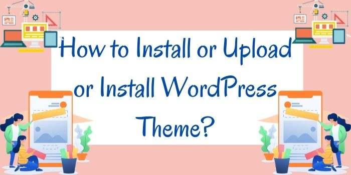 Upload Or Install WordPress