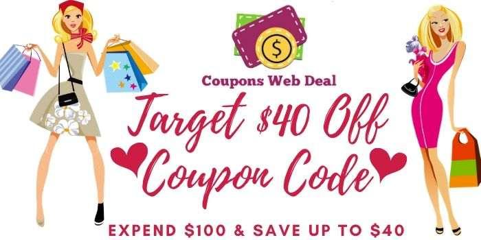 Target $40 Off $100 Coupon