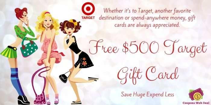 Free $500 Target Gift Card
