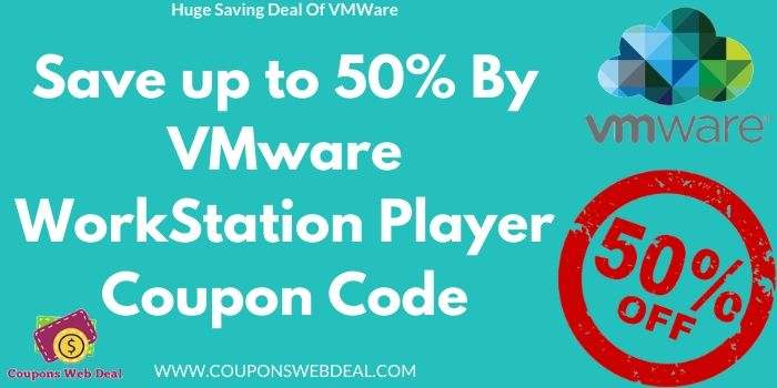 VMWare Workstation Player Coupon Code