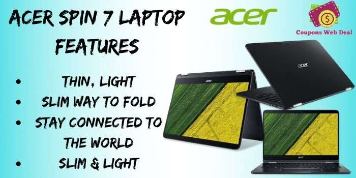 Acer Spin 7 Laptop Discount Deal