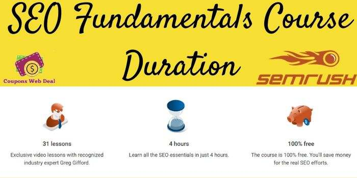 Semrush SEO Basic Course Duration
