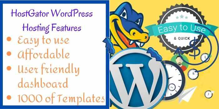 Hostgator WordPress Features