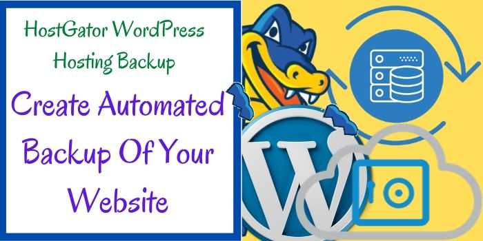 Hostgator WordPress Backup