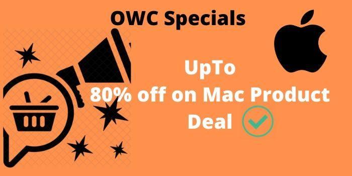 80% off OWC Specials
