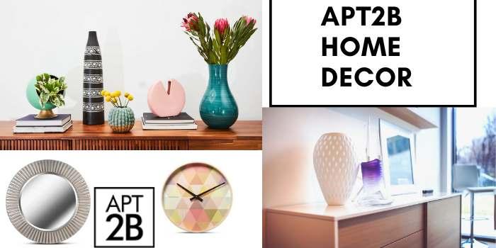 Apt2B home decor Coupon Code