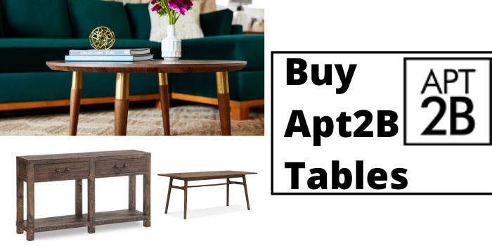 Buy Apt2B Tables Coupon Code