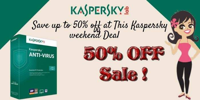 Kaspersky 50 Off Sale