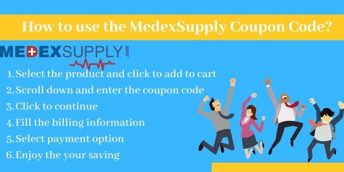How to use the MedexSupply Promo Codes