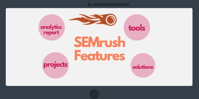 SEMrush features