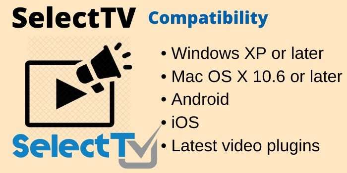 SelectTV 1 Year Compatibility