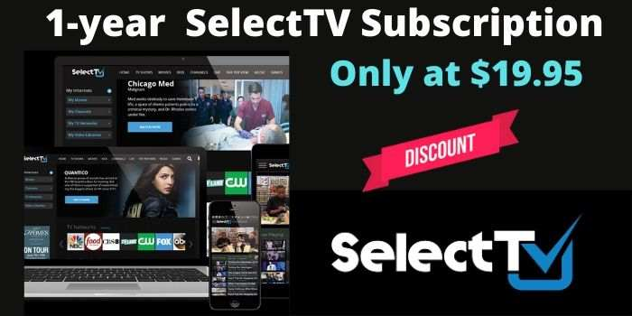 SelectTV 1 Year Discount