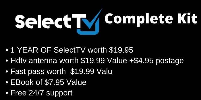 SelectTV Complete Kit
