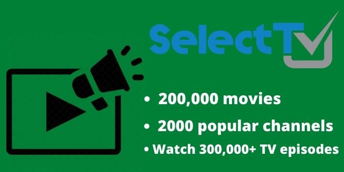 SelectTV Features