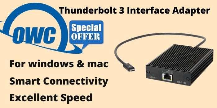 Thunderbolt 3 Adapter Deal