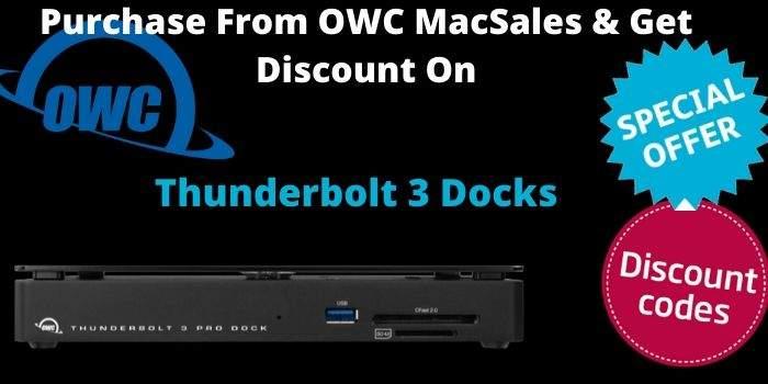 MacSales Thunderbolt 3 Docks 2
