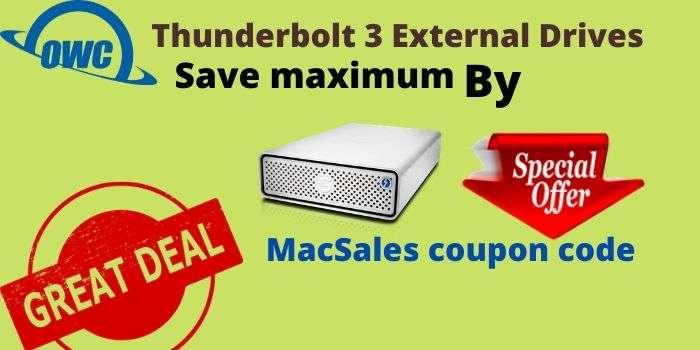 OWC Thunderbolt 3 external drives 2