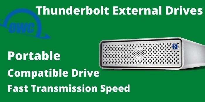 MacSales Thunderbolt External Drives