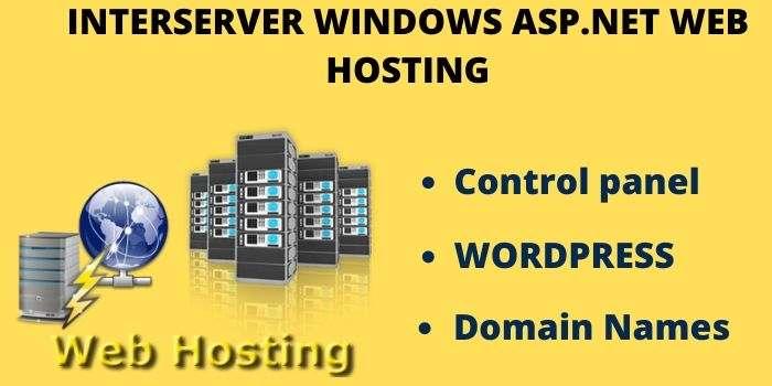 interserver windows web hosting
