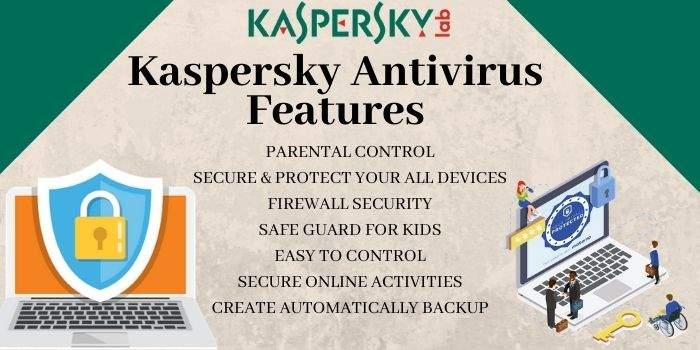 Kaspersky Antivirus Features