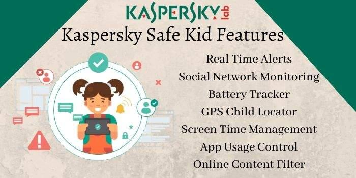 kaspersky safe kids features