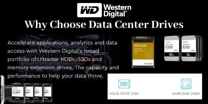 why choose data center drives