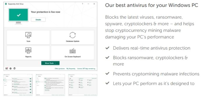 why kaspersky best antivirus